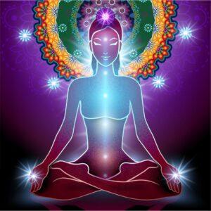 Kundalini awakening yoga pose