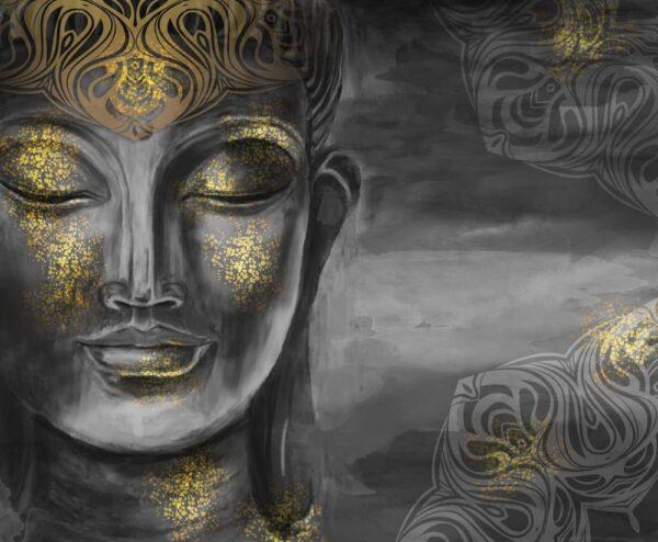Painting of gautama buddha